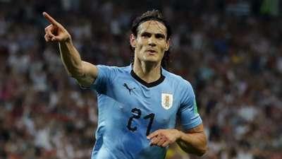 Edinson Cavani Uruguay Portugal World Cup