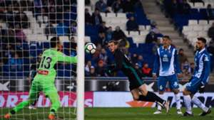 Gareth Bale Diego Lopez Espanyol Real Madrid LaLiga