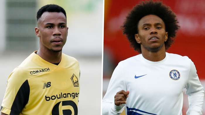 Gabriel Magalhaes Lille Willian Chelsea