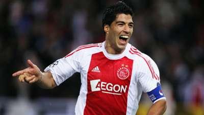 Luis Suarez Ajax Auxerre 10192010