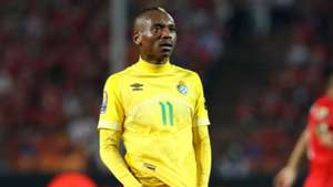 Khama Billiat of Zimbabwe during the 2019 Africa Cup of Nations