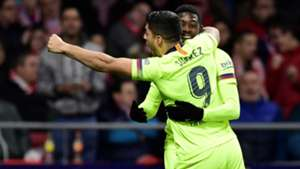 Ousmane Dembele Luis Suarez Atletico de Madrid Barcelona LaLiga 24112018