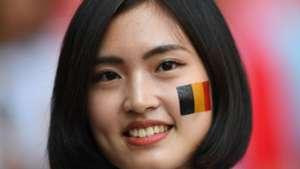 美女サポワールドカップ_ベルギーvsチュニジア_ベルギー4