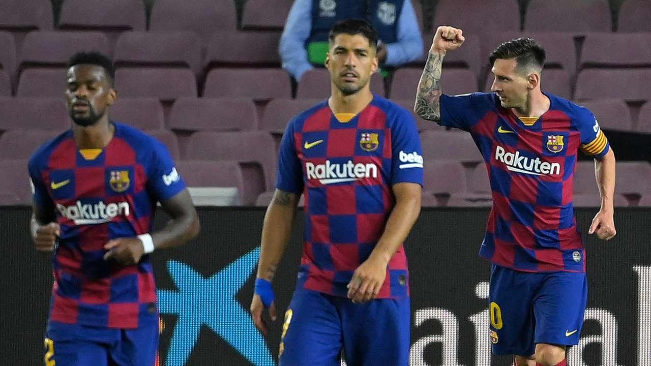 Lionel Messi Barcelona 2019-2020