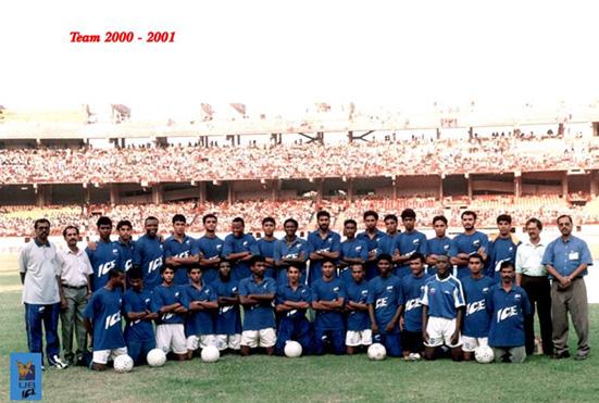 FC Kochin team 2000-01