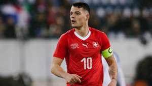 Granit Xhaka Switzerland Panama Friendlies 03272018