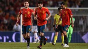 Saul Niguez Nacho Fernandez España Croacia Spain Croatia UEFA Nations League 11092018