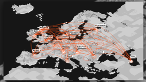 Euro 2020 coronavirus GFX