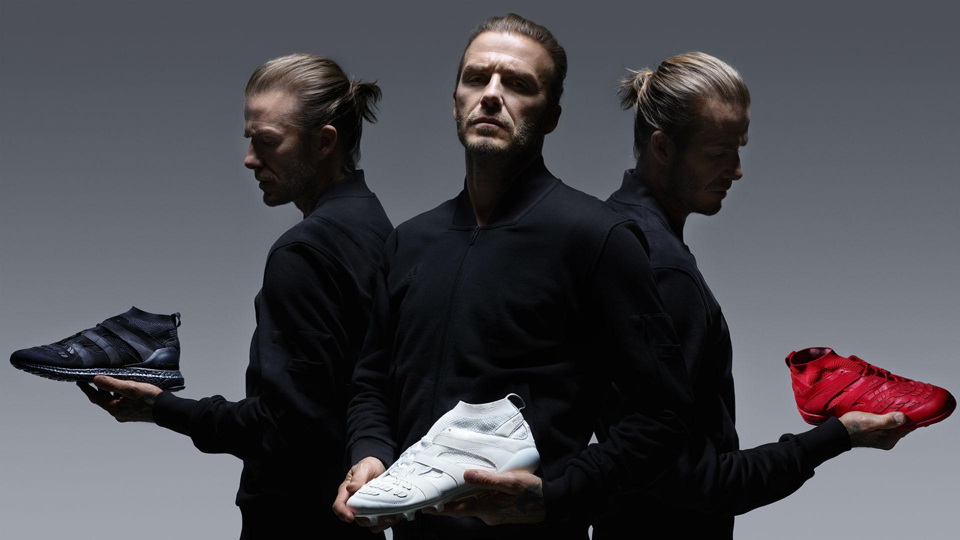 Adidas David Beckham Capsule Collection: Former Man Utd star