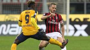 Leonardo Bonucci Milan Verona Coppa Italia