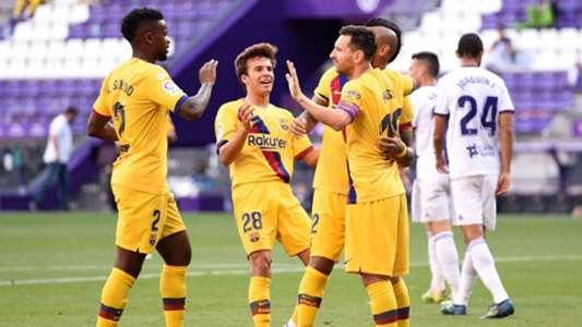 Valladolid vs. Barcelona en directo: resultado, alineaciones, polémicas, reacciones y ruedas de prensa | Goal.com