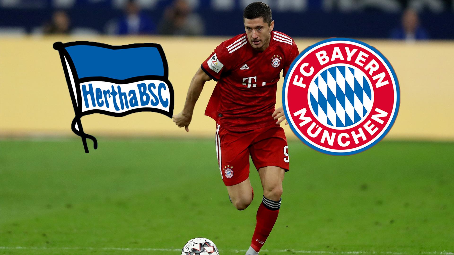 Hertha Bsc Gegen Fc Bayern Munchen Fussball Heute Live Im Tv