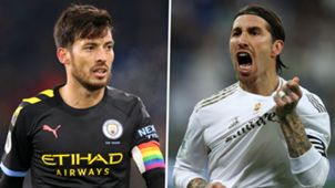 David Silva Manchester City Sergio Ramos Real Madrid