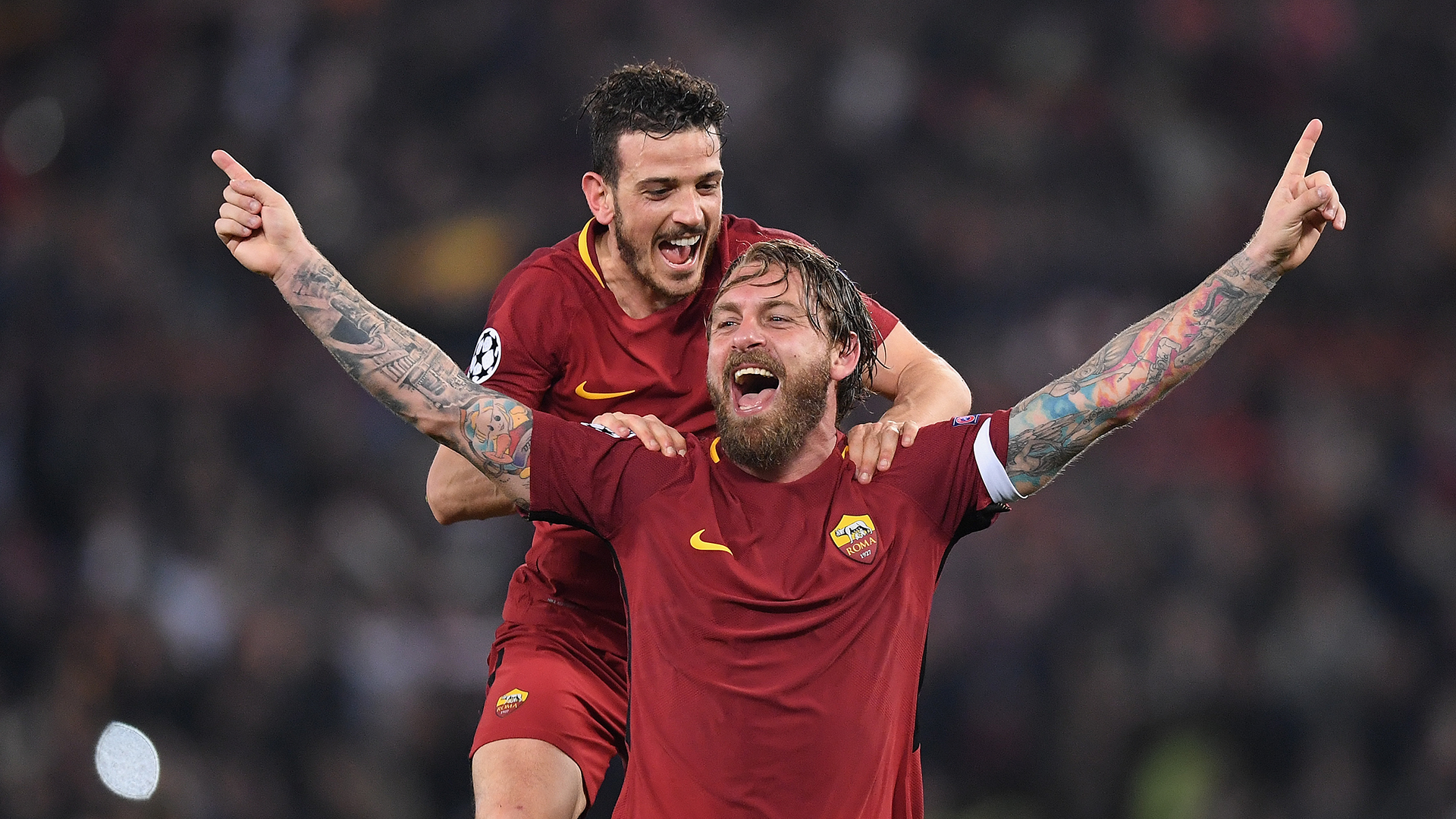 AS Roma Barcelona Champions League 2017-18
