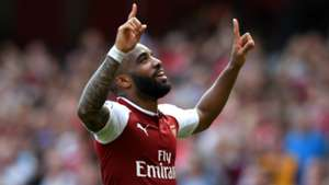 Alexandre Lacazette Arsenal West Ham
