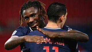 Moise Kean Angel Di Maria PSG Rennes Ligue 1 07112020