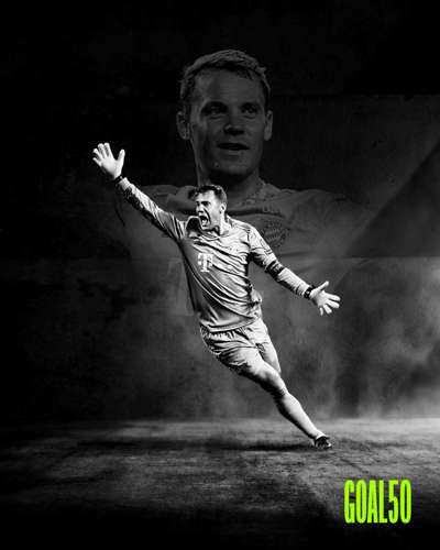 Manuel Neuer Goal 50