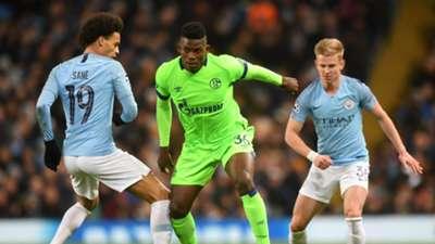 Leroy Sane, Breel Embolo, Zinchenko, Man City vs Schalke 2018-19