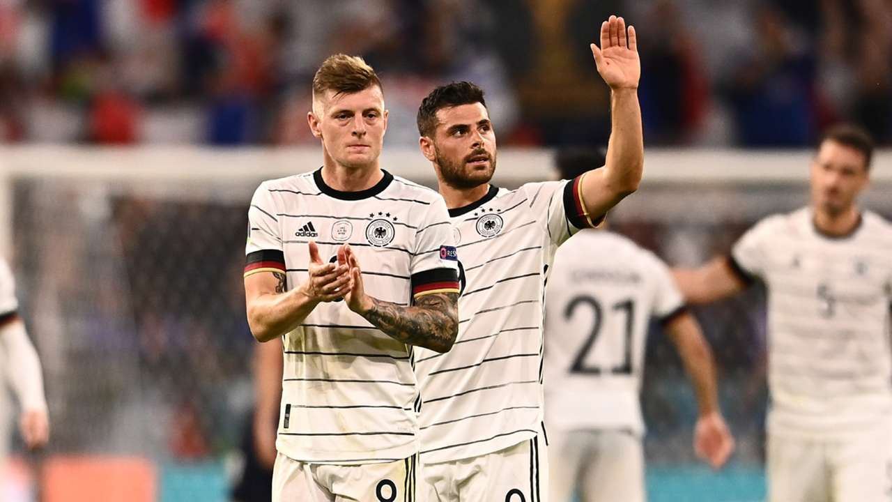 Kevin Volland Toni Kroos France vs Germany Euro 2020