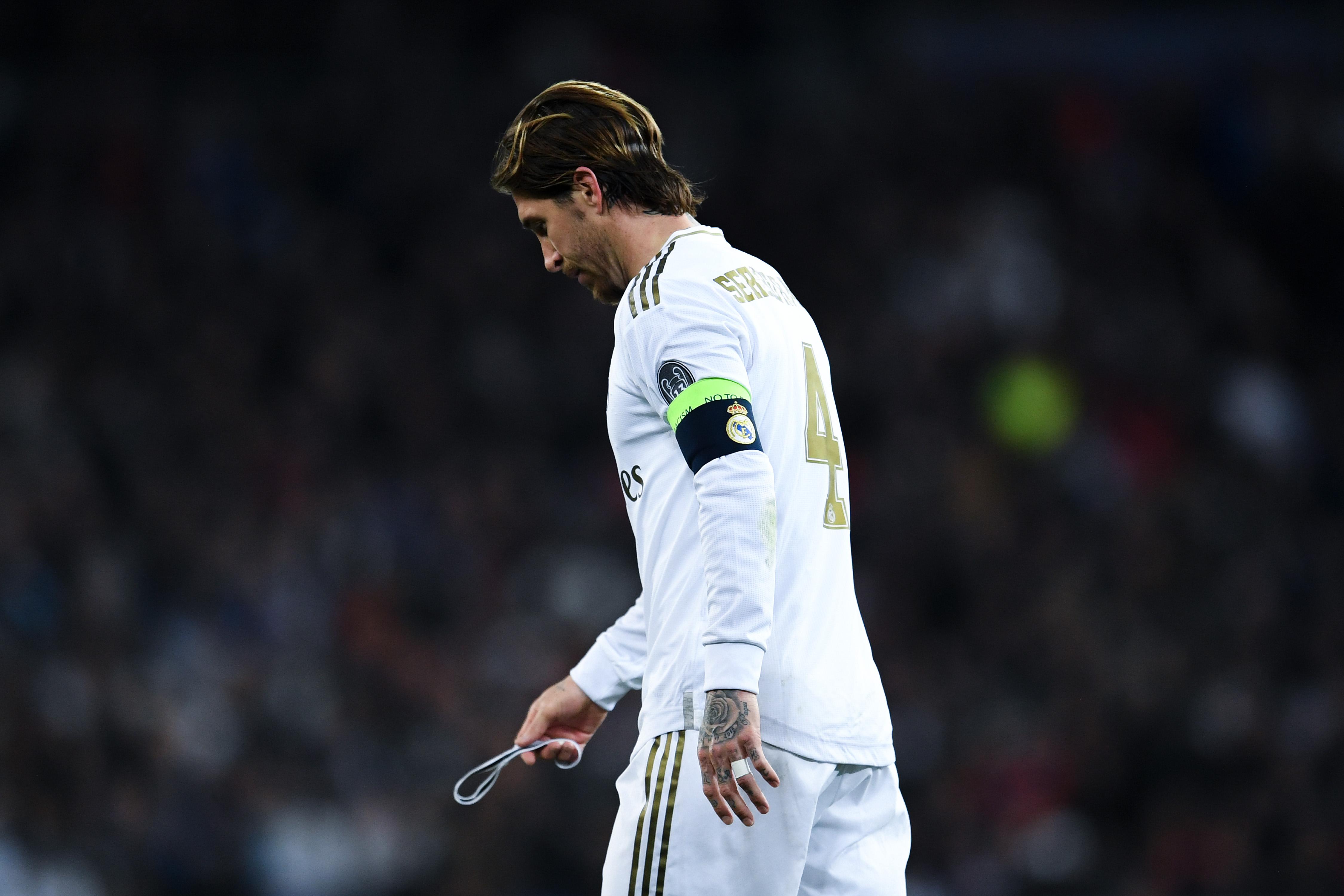 "Real Madrid - Sergio Ramos : ""C'est la merde"""