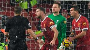 Henderson Mignolet Lovren Liverpool Everton