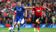 280419 ALEXIS Sánchez Marco Kovacic Manchester United Chelsea