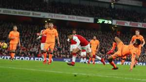 221217 Alexis Sanchez Goal Arsenal Liverpool