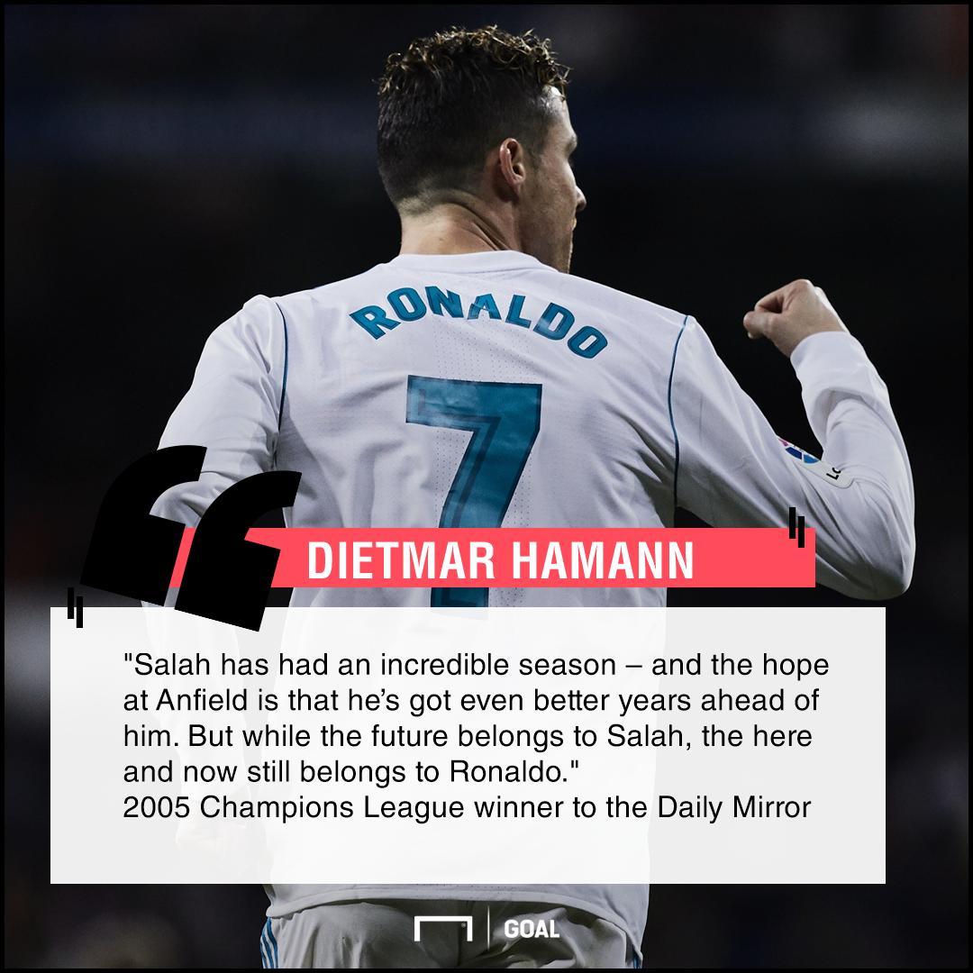 Mohamed Salah future Cristiano Ronaldo present Dietmar Hamann