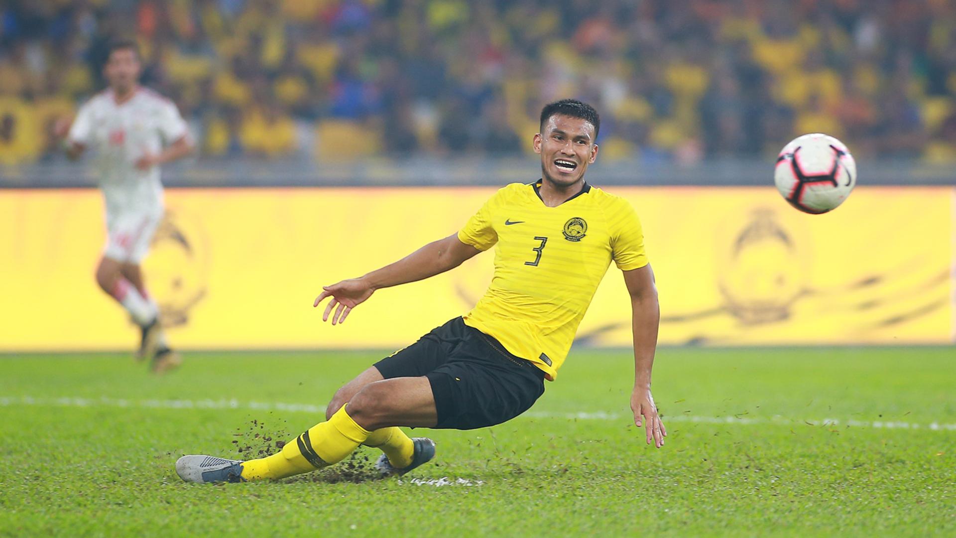 Shahrul Saad, Malaysia v UAE, 2022 World Cup Qualifier, 10 Sep 2019