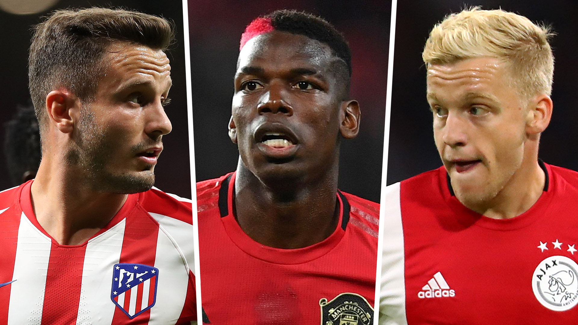 Transfer News And Rumours Live Pogba Clear To Leave As Man Utd Eye Van De Beek Saul As Replacements Goal Com