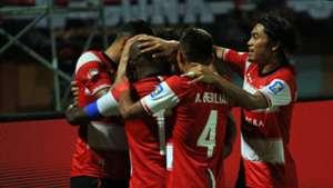 Selebrasi Madura United