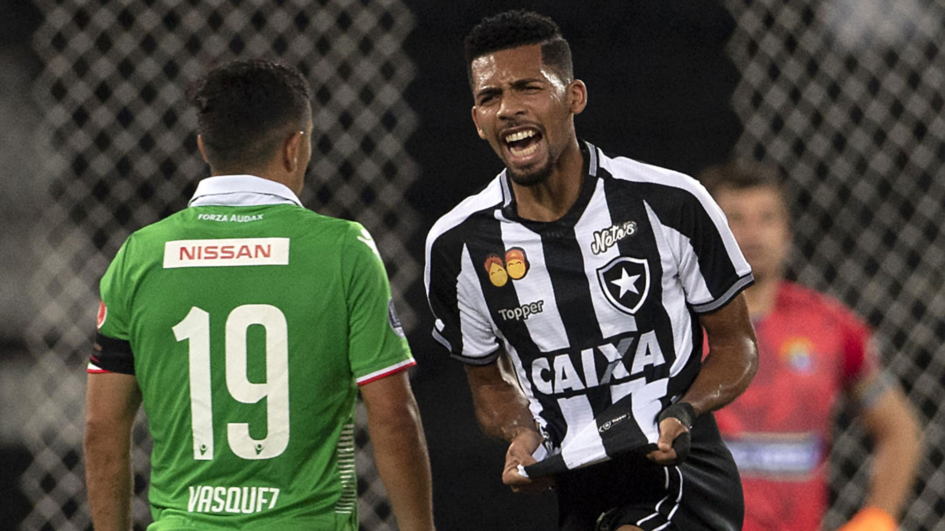 Matheus Fernandes Botafogo Audax Italiano Copa Sudamericana 09052018