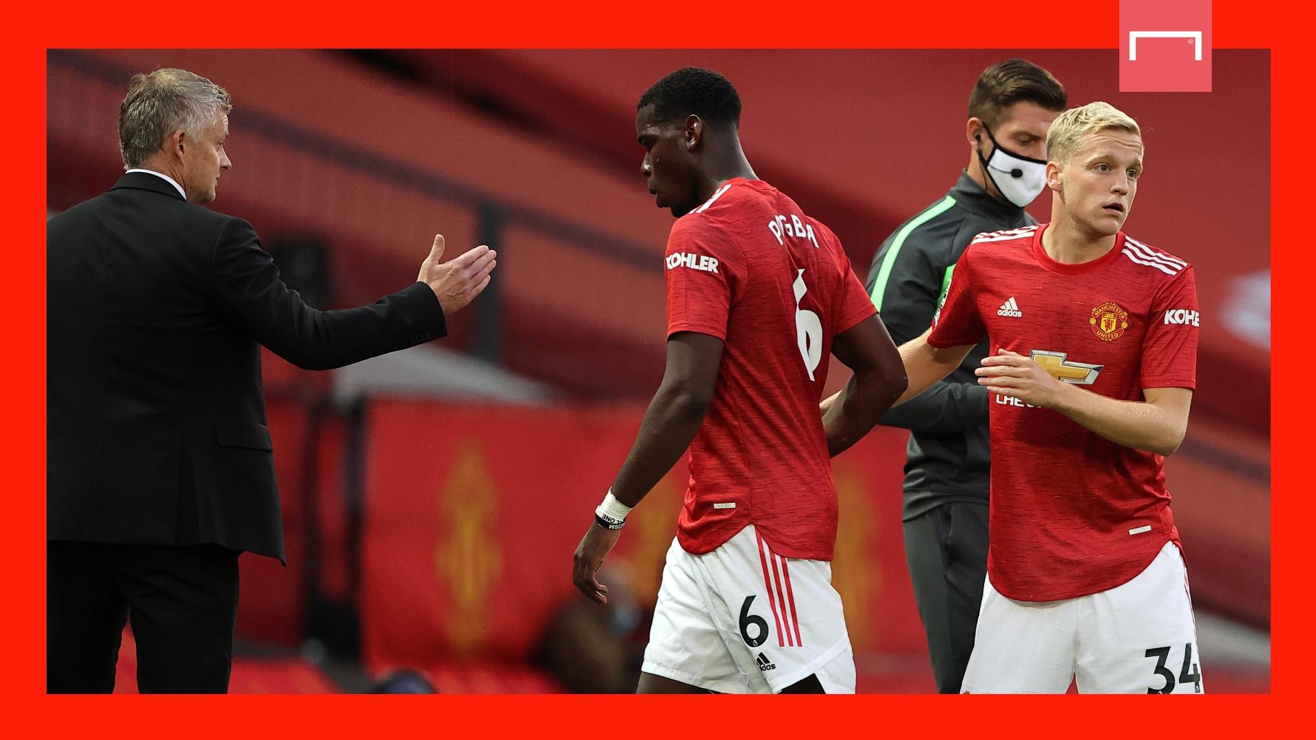 Man United beat Brighton again, Calvert-Lewin hat-trick