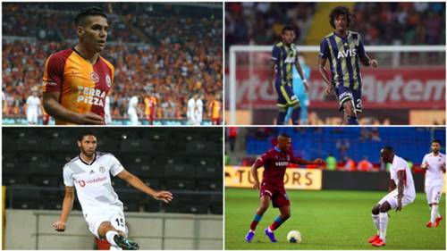 Falcao Luiz Gustavo Mohamed Elneny Daniel Sturridge Super Lig