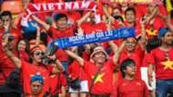 Cổ động viên Việt Nam tại ASIAD 18