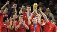 Iniesta Spanish Squad 10072010