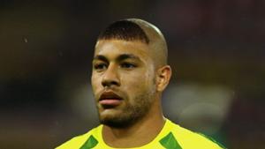 Neymar with Ronaldo's haircut