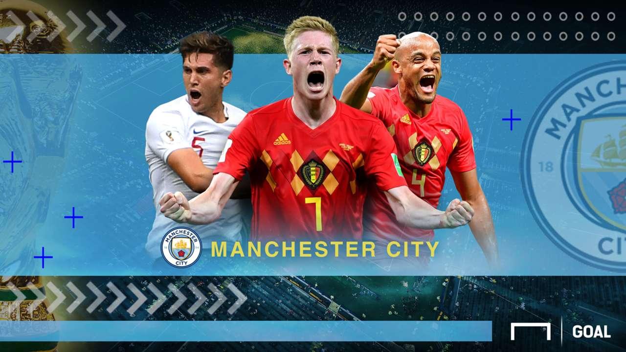 Rapor Pemain Manchester City Di Piala Dunia 2018