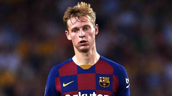 Frenkie de Jong Barcelona 2019-20