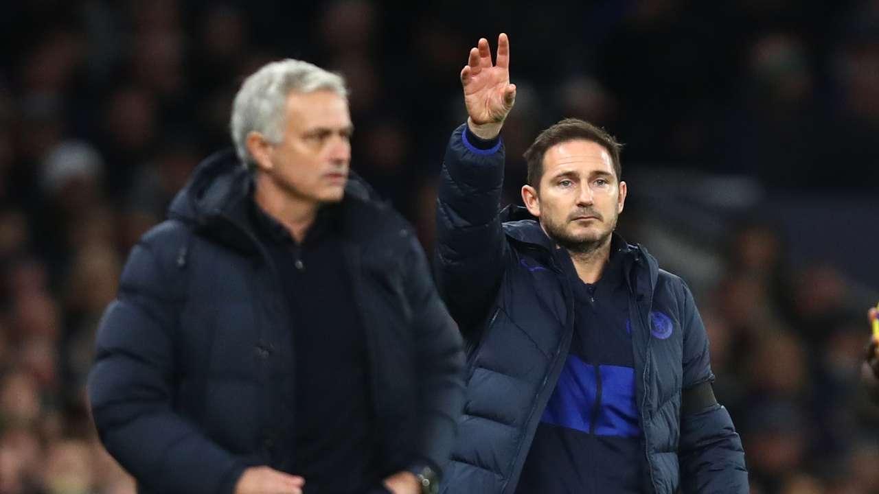 Frank Lampard Jose Mourinho 2019-20