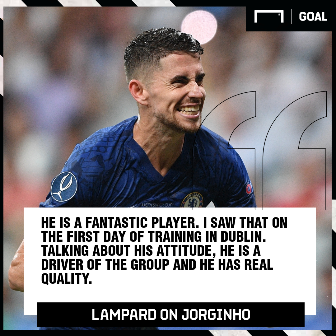 Lampard on Jorginho
