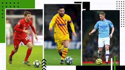 GFX Most Assists last decade Müller Messi De Bruyne