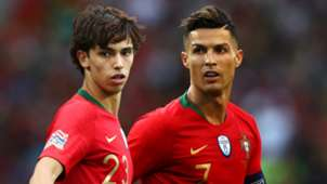 Joao Felix Cristiano Ronaldo Portugal