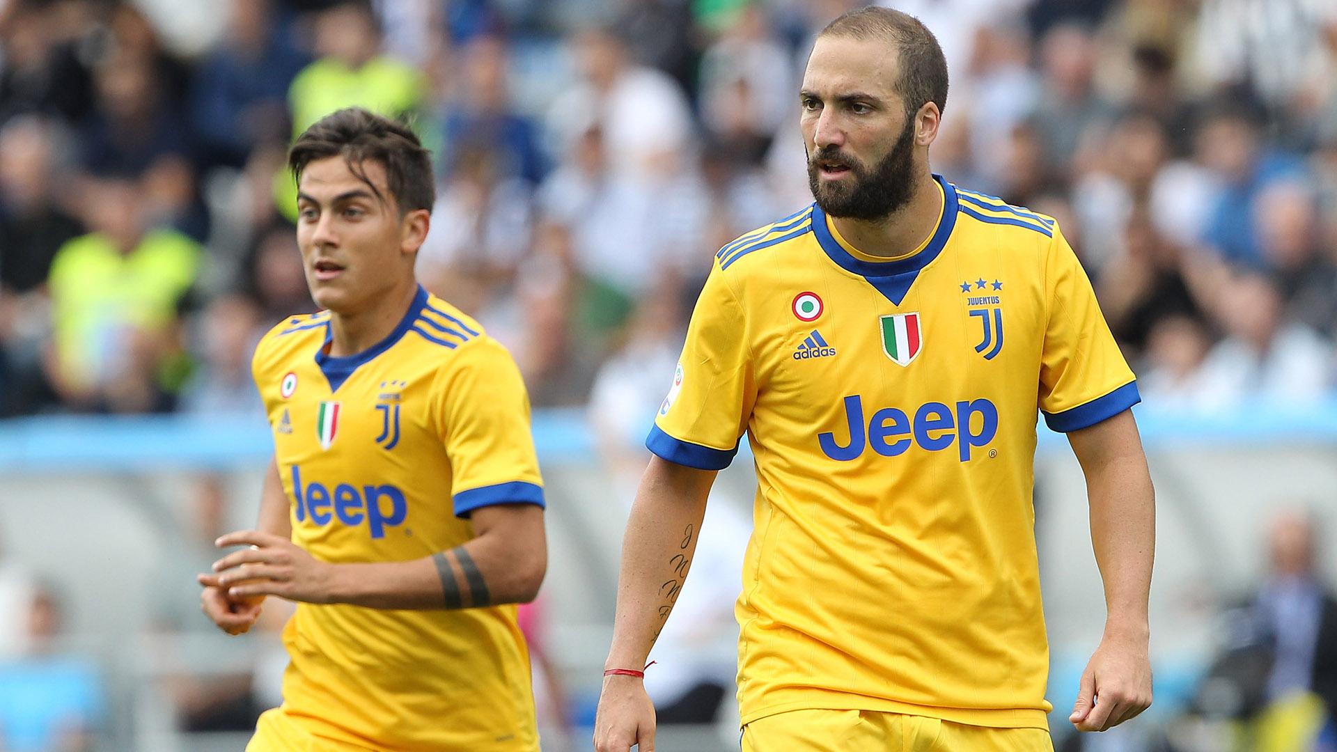 Higuain Dybala Juventus