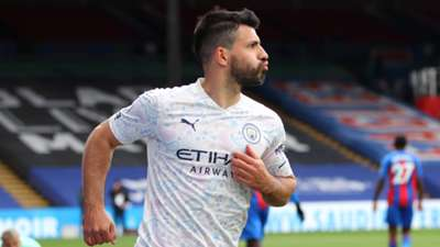 Sergio Aguero Manchester City Crystal Palace Premier League 2020-21