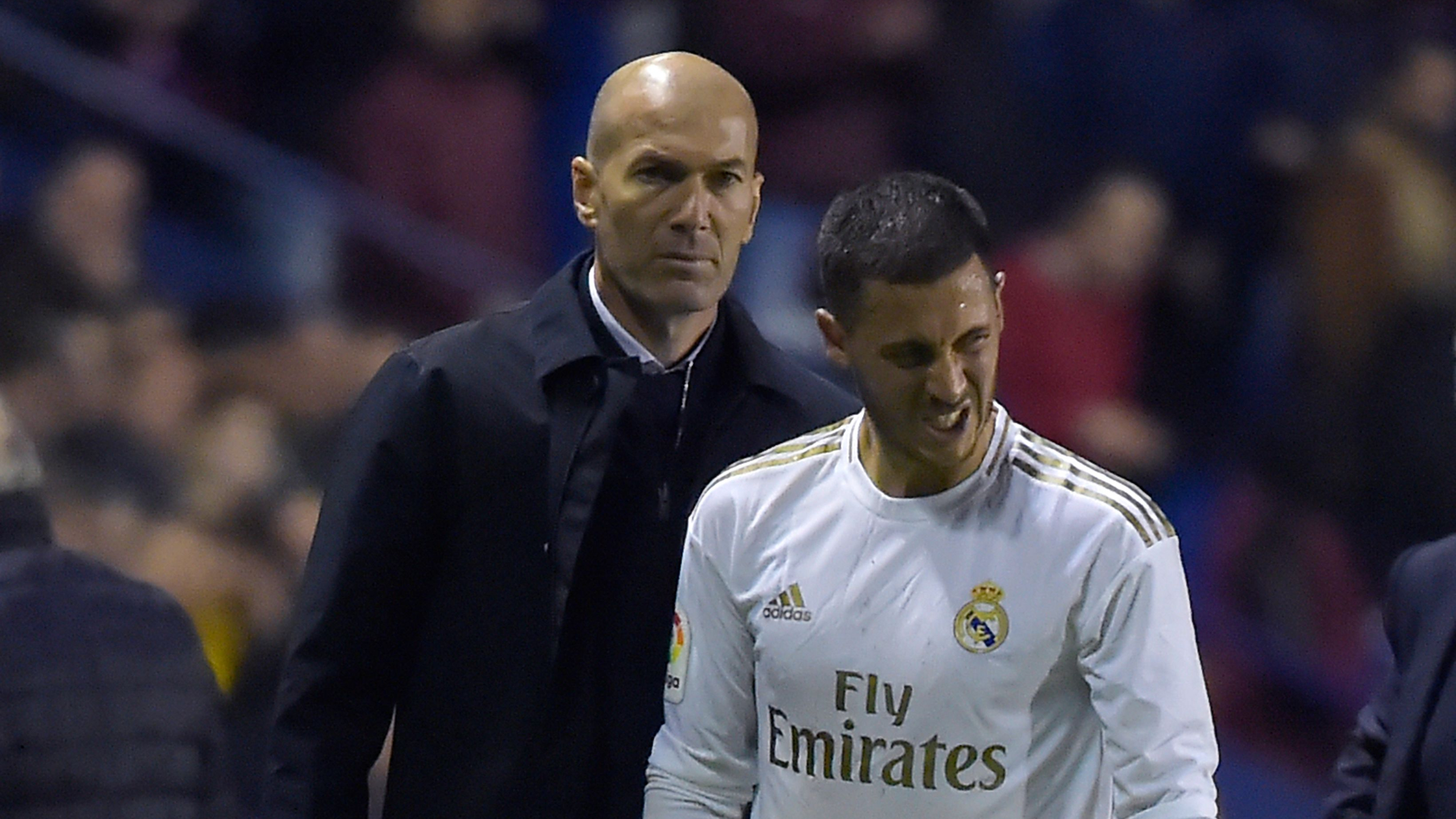 'Eden's having a hard time' - Hazard to miss Athletic clash as Zidane protects Real Madrid star