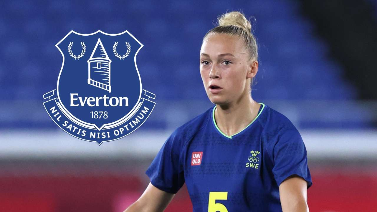 Hanna Bennison Everton composite