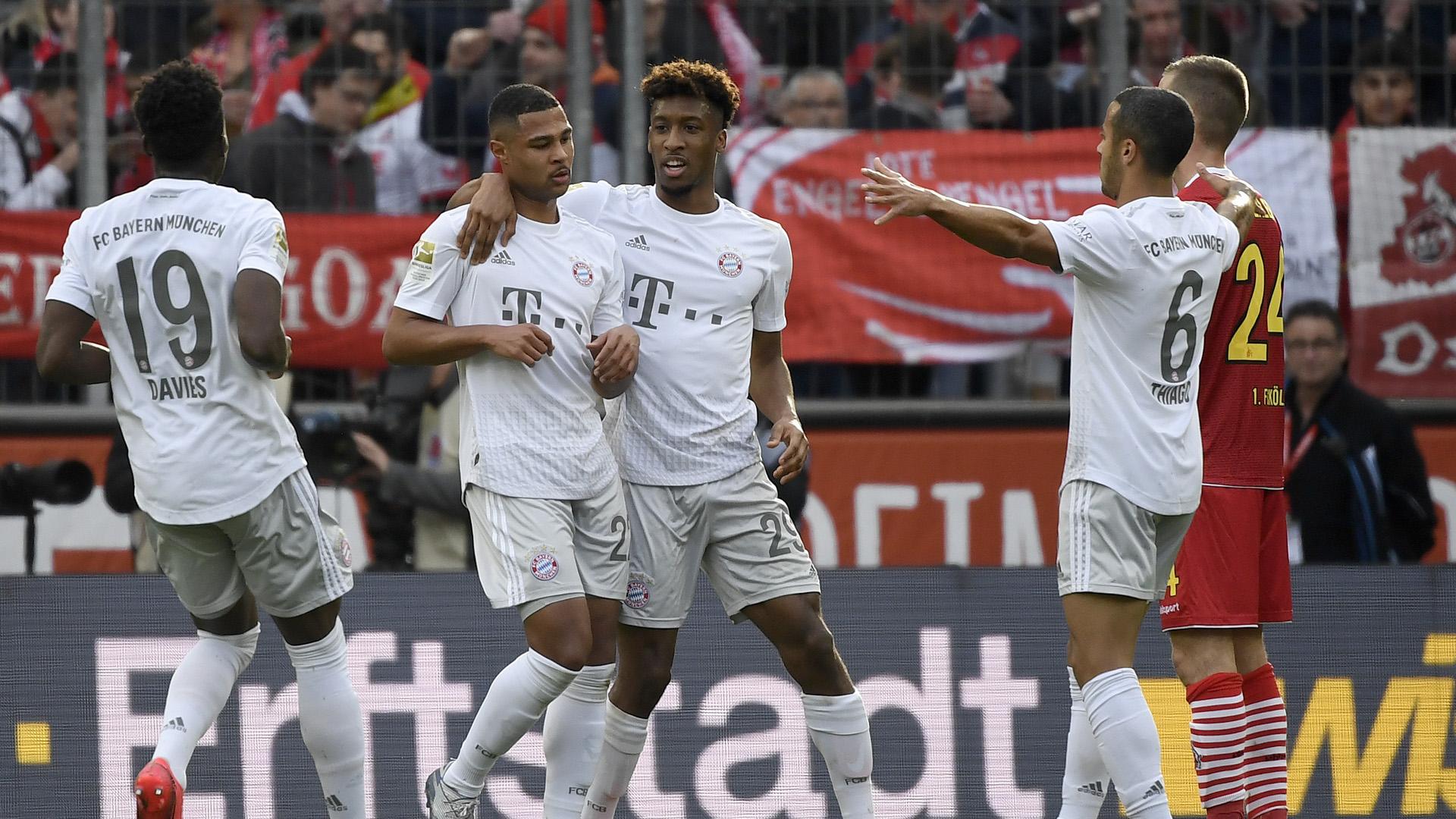 Cologne-Munich (1-4) - Le Bayern en mode rouleau compresseur