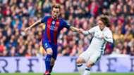 Ivan Rakitic Luka Modric Barcelona Real Madrid