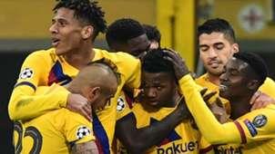 Ansu Fati Inter Barcelona Champions League